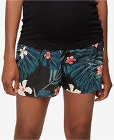 Rachel Zoe Maternity Floral-Print Shorts