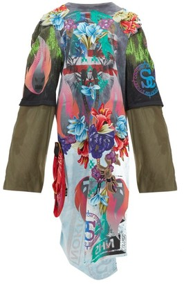 Couture Noki - X Jenny King Embroidery Street Dress - Womens - Multi