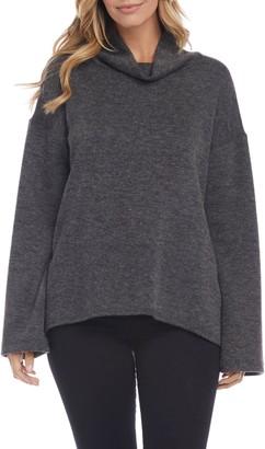Karen Kane Double Knit Turtleneck Sweater