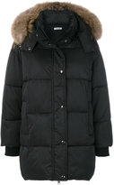 P.A.R.O.S.H. fur hood puffa coat