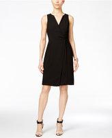 BCBGeneration Faux-Wrap Sheath Dress