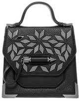Mackage Rubie-A Leather Crossbody Bag With Studs In Black