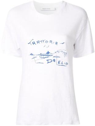 Nobody Denim Trattoria printed T-shirt
