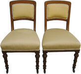 One Kings Lane Vintage Antique English Chairs, Pair