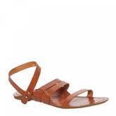 Max Studio Verdant - Three Strap Ankle Wrap Flat Sandals