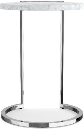 Williams-Sonoma Marble & Metal Accent Table