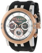 Mulco Men's MW3-11169-025 Lincoln Illusion Chronograph Analog Swiss Movement Watch