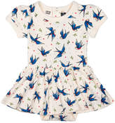 Rock Your Baby Blue Birds Dress