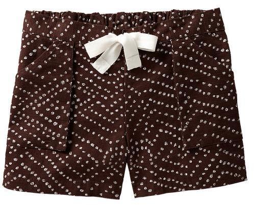 Gap Diane von Furstenberg ♥ GapKids printed drawstring shorts
