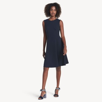 Tommy Hilfiger Essential Sleeveless Fit And Flare Dress
