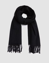 Our Legacy Scarf Black Merino Wool
