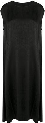 Vetements Textured Midi Dress