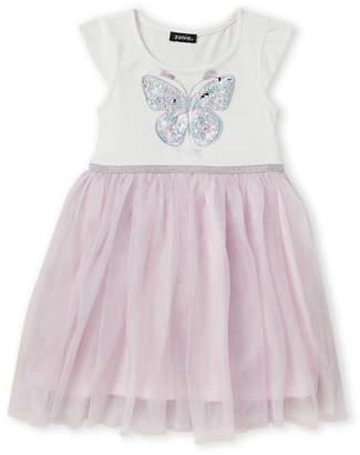 Zunie Girls 4-6x) Believe Sequin Butterfly Tutu
