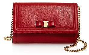 Salvatore Ferragamo Vara Bow Leather Mini Bag