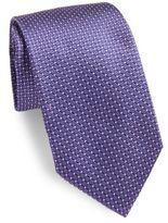 Corneliani Medallion Silk Tie