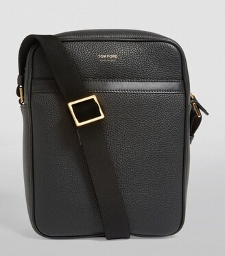 Tom Ford Small Leather Messenger Bag