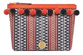 Tory Burch Pom-Pom Cosmetic Case