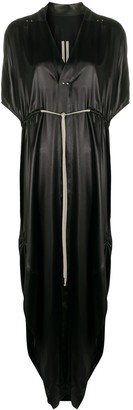 Rick Owens Textured Side Slit Dress