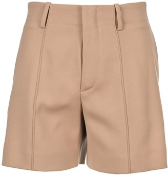 Chloé High-Waist Tailored Shorts