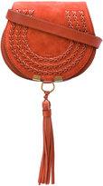 Chloé Marcie shoulder bag - women - Cotton/Calf Suede - One Size
