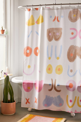 Deny Designs Rhianna Marie Chan For Deny Youre The Tits Shower Curtain