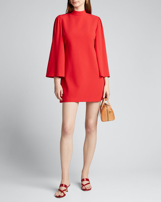 Alice + Olivia Bailey Bell-Sleeve Dress