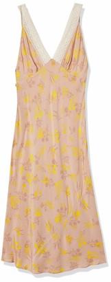 ASTR the Label Women's Sleeveless in Your Dreams V-Neck Midi Slip Dress