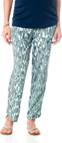 A Pea in the Pod Splendid Pull On Style Rayon Maternity Crop Pants