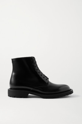 Saint Laurent Army Leather Ankle Boots - Black