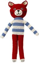 Anne Claire Felix Hand-Crocheted Organic Cotton Cat