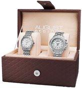 August Steiner Women's AS8171SS Analog Display Quartz Rose Gold Watch