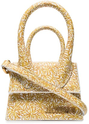 Jacquemus Le Chiquito floral mini bag