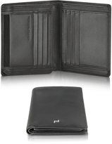 Porsche Design Touch Black Leather V11 Vertical Billfold Wallet