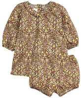 H&M Dress and Puff Pants - Brown/khaki green - Kids
