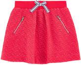 Jean Bourget Sportswear jacquard knit skirt