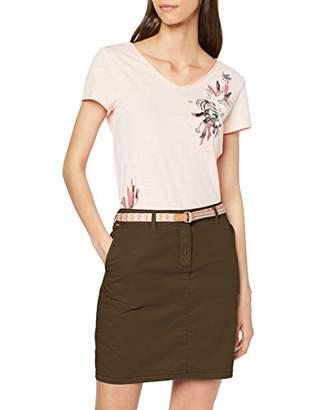 Esprit Women's 059ee1d018 Skirt, (Light Grey 040), (Size: 38)