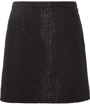 A.P.C. Ada Metallic Jacquard Mini Skirt