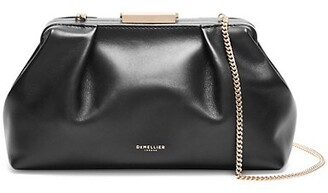 DeMellier Mini Florence Leather Clutch