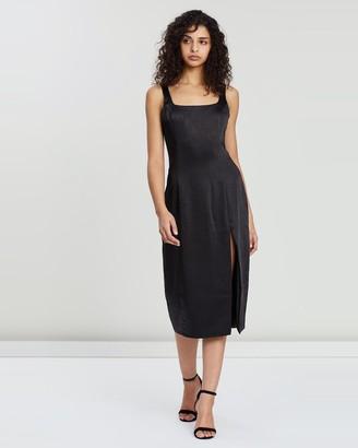 Third Form Final Say Split Dress
