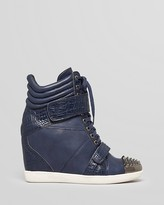 Boutique 9 Lace Up Wedge Sneakers - Nevan