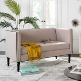 Safavieh Couture Jermaine Loveseat in Taupe