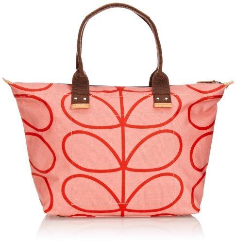 Orla Kiely Linear Stem Easy Zip Tote Shoulder Bag