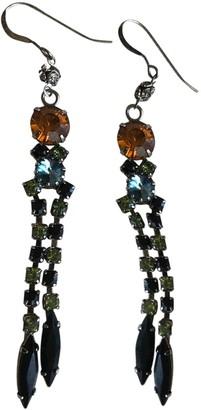 Erickson Beamon Multicolour Glass Earrings