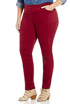 Allison Daley Plus Pull-On Modern Slim Leg Pants