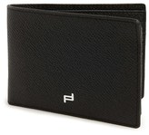 Porsche Design Men's 'Fc 3.0' Leather L-Fold Wallet - Black