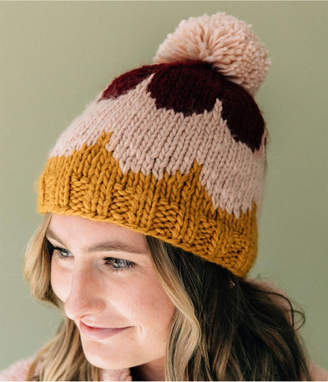 The Blueberry Hill Scallop Hat