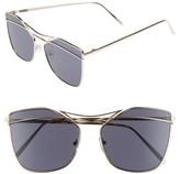 BP Women's Metal Line Sunglasses - Gold/ Black