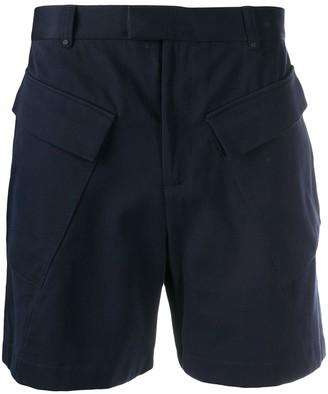 Qasimi Cargo Pocket Cotton Shorts
