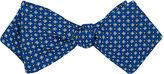 Drakes Drake's Men's Diamond-Print Silk Bow Tie