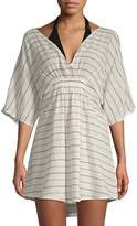 Onia Alessandra Striped Coverup